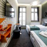 Apartament 2-osobowy z balkonem z klimatyzacją z 1 pomieszczeniem sypialnianym