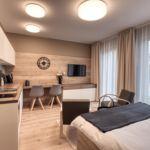 1-Zimmer-Apartment für 2 Personen Obergeschoss mit Balkon (Zusatzbett möglich)