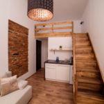 Apartament 2-osobowy Lux z 1 pomieszczeniem sypialnianym