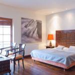 Apartman pro 4 os. s 1 ložnicí s výhledem na hory v přízemí