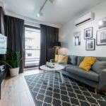 2-Zimmer-Apartment für 4 Personen mit Klimaanlage