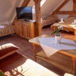 Apartament 4-osobowy z 1 pomieszczeniem sypialnianym (możliwa dostawka)