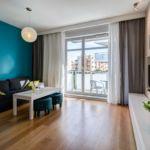 Apartament standard cu balcon pentru 4 pers. (se inchirieaza doar integral)