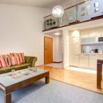 Apartament 6-osobowy z antresolą z tarasem