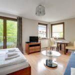 Apartament 4-osobowy Studio z wanną
