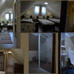 Emeleti háromágyas szoba (pótágyazható)