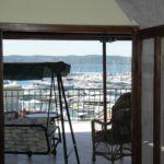 Apartmán s terasou pre 3 os. s 1 spálňou s výhľadom na more