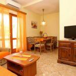 Apartament 5-osobowy Komfort z balkonem z 2 pomieszczeniami sypialnianymi