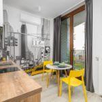 Apartament 3-osobowy Superior z balkonem z 2 pomieszczeniami sypialnianymi