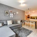 Apartament 6-osobowy z aneksem kuchennym z widokiem na rzekę z 3 pomieszczeniami sypialnianymi