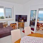 Apartament 5-osobowy z klimatyzacją z widokiem na morze z 2 pomieszczeniami sypialnianymi