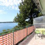 Apartament cu aer conditionat cu vedere spre mare cu 1 camera pentru 3 pers.