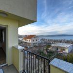 Двухкомнатный 4-местный апартамент На этаже с видом на море