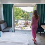 Légkondicionált Standard kétágyas szoba (pótágyazható)