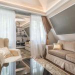 Apartament 4-osobowy Exclusive z klimatyzacją z 2 pomieszczeniami sypialnianymi