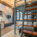 Apartament studio cu chicineta proprie cu 1 camera pentru 4 pers.