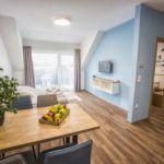 Emeleti Premium 4 fős apartman 2 hálótérrel (pótágyazható)