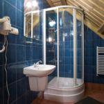 Fürdőszobás Tourist franciaágyas szoba