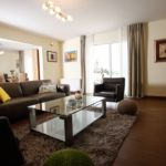 Sea View Upstairs 3-Room Apartment for 6 Persons