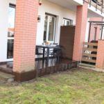 Földszintes kerthelyiséggel 4 fős apartman 2 hálótérrel