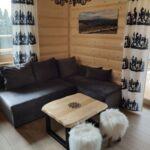Hegyekre néző teljes ház 10 fős faház (pótágyazható)