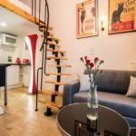 Balkonos Studio 3 fős apartman 1 hálótérrel