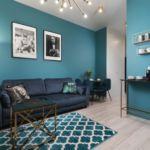 Apartament 4-osobowy na piętrze z tarasem z 2 pomieszczeniami sypialnianymi