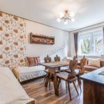 Apartament 6-osobowy z łazienką z własną kuchnią z 2 pomieszczeniami sypialnianymi (możliwa dostawka)