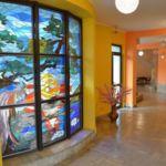 Hegyekre néző emeleti franciaágyas szoba