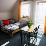 Apartment für 6 Personen mit Dusche und Eigner Küche