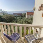 Apartament 4-osobowy z klimatyzacją z widokiem na morze z 2 pomieszczeniami sypialnianymi