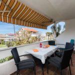 2-Zimmer-Apartment für 5 Personen mit Klimaanlage und Balkon