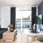 Deluxe Apartman pro 4 os. se 2 ložnicemi na straně bazénu