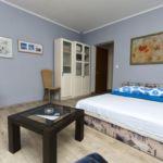 Apartament la etaj cu aer conditionat cu 1 camera pentru 2 pers.