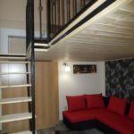 Panorámás emeleti négyágyas szoba