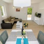 Udobnost Pogeld na vrt apartman za 4 osoba(e) sa 2 spavaće(om) sobe(om)