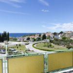 2-Zimmer-Apartment für 5 Personen mit Klimaanlage und Aussicht auf das Meer