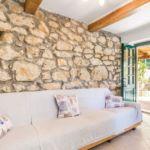 3-Zimmer-Apartment für 6 Personen mit Klimaanlage und Aussicht auf den Garten