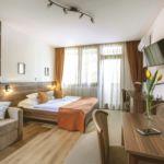 Apartament superior cu aer conditionat cu 1 camera pentru 2 pers. (se poate solicita pat suplimentar)