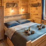 Domek drewniany 7-osobowy cały dom Przyjazny podróżom rodzinnym