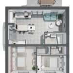 Családi 5 fős apartman