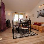 Apartament 6-osobowy Tourist z widokiem na morze z 2 pomieszczeniami sypialnianymi