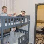 Семейный Двухкомнатный 4-местный апартамент c лоджией
