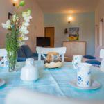 Apartament 6-osobowy Komfort z widokiem na morze z 3 pomieszczeniami sypialnianymi