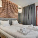 Apartament 4-osobowy na piętrze z widokiem na miasto z 2 pomieszczeniami sypialnianymi