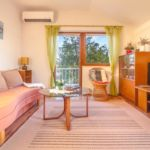 Apartament 5-osobowy z klimatyzacją z widokiem na morze z 2 pomieszczeniami sypialnianymi A-5362-a