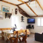 Apartament 4-osobowy z tarasem z widokiem na morze z 1 pomieszczeniem sypialnianym K-17330