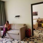 Двухкомнатный 4-местный апартамент Супериор c лоджией