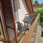 Panorámás erkélyes kétágyas szoba (pótágyazható)
