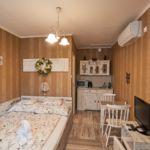Földszinti Studio franciaágyas szoba